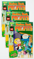 Bronze Age (1970-1979):Cartoon Character, Richie Rich Profits #1 File Copies Group of 25 (Harvey, 1974)Condition: Average NM-.... (Total: 25 Comic Books)