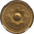 India:British India, India: British India. Manilal Chimanlal & Co. gold Tola ND MS64 NGC,...