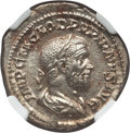 Ancients:Roman Imperial, Ancients: Pupienus (AD 238). AR denarius (20mm, 3.05 gm, 7h). NGCMS 5/5 - 5/5, Fine Style....