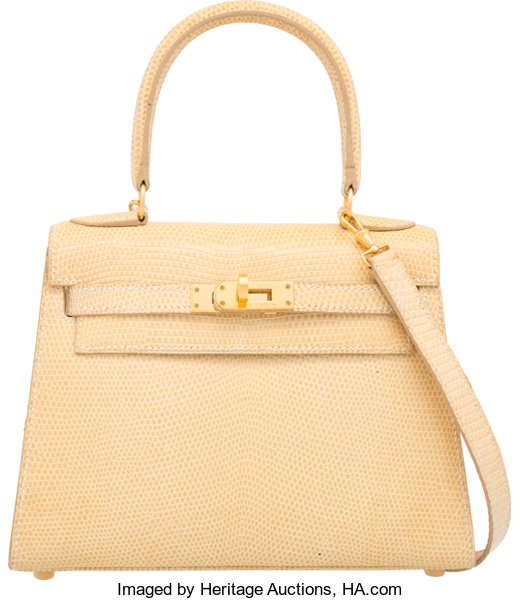 1f6089ebf08 ... Luxury Accessories:Bags, Hermes 20cm Blanc Casse Nilo Lizard Sellier Kelly  Bag with GoldHardware ...