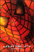 "Movie Posters:Action, Spider-Man (Columbia, 2002). British Banner (39.75"" X 59.75"")Advance. Action.. ..."