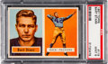 Football Cards:Singles (1950-1959), 1957 Topps Bart Starr #119 Rookie PSA Mint 9....