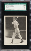 Baseball Cards:Singles (1930-1939), 1939 Play Ball Ted Williams #92 Rookie SGC 92 NM/MT+ 8.5....