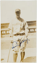 Baseball Collectibles:Photos, 1929 Lou Gehrig Signed Original Photograph. ...