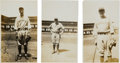 Baseball Collectibles:Photos, 1929-30 Babe Ruth, Lyn Lary & Tony Lazzeri OriginalPhotographs. ...