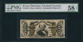 Fractional Currency:Third Issue, Fr. 1329 50¢ Third Issue Spinner PMG Choice About Unc 58 EPQ.. ...