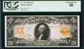 Large Size:Gold Certificates, Fr. 1183 $20 1906 Gold Certificate PCGS Extremely Fine 40.. ...
