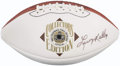 Football Collectibles:Balls, Leroy Kelly Signed Football. ...