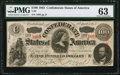 Confederate Notes:1863 Issues, T56 $100 1863 PF-1 Cr. 403. . ...