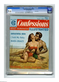 Magazines:Romance, Confessions Illustrated #2 Gaines File pedigree (EC, 1956) CGC NM+ 9.6 Cream to off-white pages. Rudy Nappi painted cover. J...