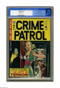 Golden Age (1938-1955):Crime, Crime Patrol #16 Gaines File pedigree (EC, 1950) CGC NM+ 9.6 Off-white to white pages. The Crypt Keeper makes his second app...