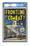 Golden Age (1938-1955):War, Frontline Combat #8 Gaines File pedigree (EC, 1952) CGC NM+ 9.6 Off-white to white pages. Alex Toth delivered the art for th...