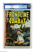 Golden Age (1938-1955):War, Frontline Combat #10 Gaines File pedigree (EC, 1953) CGC NM+ 9.6 Off-white pages. John Severin and Bill Elder created a poig...