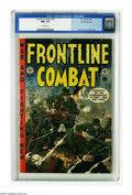 Golden Age (1938-1955):War, Frontline Combat #15 Gaines File pedigree (EC, 1954) CGC NM+ 9.6Off-white pages. Wally Wood did his third, and arguably his...