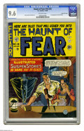Golden Age (1938-1955):Horror, Haunt of Fear #16 (#2) Gaines File pedigree 1/9 (EC, 1950) CGC NM+9.6 Off-white pages. The Old Witch made her first appeara...