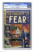 Golden Age (1938-1955):Horror, Haunt of Fear #6 Gaines File pedigree 9/11 (EC, 1951) CGC NM 9.4White pages. This issue features EC's first of several unau...