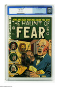Golden Age (1938-1955):Horror, Haunt of Fear #8 Gaines File pedigree 10/12 (EC, 1951) CGC NM+ 9.6Off-white to white pages. Noted for its Overstreet-design...