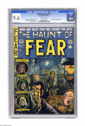 "Golden Age (1938-1955):Horror, Haunt of Fear #12 (EC, 1952) CGC NM+ 9.6 Off-white pages.Overstreet notes this Graham Ingels ""walking corpse"" cover as a""c..."