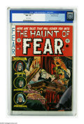 Golden Age (1938-1955):Horror, Haunt of Fear #15 Gaines File pedigree 3/12 (EC, 1952) CGC NM+ 9.6Off-white pages. This issue's Graham Ingels cover illustr...