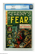 Golden Age (1938-1955):Horror, Haunt of Fear #18 Gaines File pedigree 1/12 (EC, 1953) CGC NM+ 9.6Off-white to white pages. Ray Bradbury is the star of thi...
