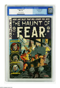 Golden Age (1938-1955):Horror, Haunt of Fear #19 Gaines File pedigree (EC, 1953) CGC NM+ 9.6Off-white to white pages. An executioner is poised to kill two...