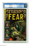 Golden Age (1938-1955):Horror, Haunt of Fear #26 Gaines File pedigree 1/12 (EC, 1954) CGC NM 9.4Off-white to white pages. Contains the anti-censorship edi...
