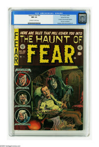 Haunt of Fear #26 Gaines File pedigree 1/12 (EC, 1954) CGC NM 9.4 Off-white to white pages. Contains the anti-censorship...