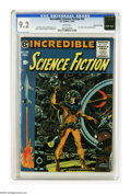 Golden Age (1938-1955):Science Fiction, Incredible Science Fiction #33 Gaines File pedigree 3/11 (EC, 1956)CGC NM- 9.2 White pages. The last color comic book publi...