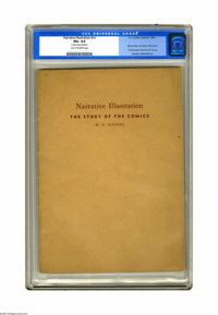 Narrative Illustration: The Story Of The Comics #nn (EC, 1942) CGC VG+ 4.5 Tan to off-white pages. Overstreet calls this...