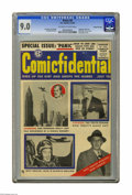 Golden Age (1938-1955):Humor, Panic #9 Gaines File pedigree 11/12 (EC, 1955) CGC VF/NM 9.0 Off-white to white pages. This issue features Superman, Dick Tr...