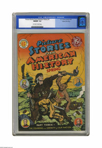 Picture Stories From American History #3 Gaines File pedigree 3/11 (EC, 1947) CGC NM/MT 9.8 Off-white to white pages. We...