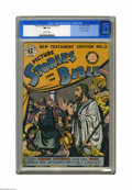 Golden Age (1938-1955):Religious, Picture Stories from the Bible New Testament Edition #3 Gaines Filepedigree (EC, 1946) CGC NM 9.4 Off-white pages. Allen Si...