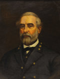 Military & Patriotic:Civil War, CONFEDERATE GEN. ROBERT E. LEE: AN IMPORTANT SUPERB, LARGE WAR-ERA PORTRAIT....