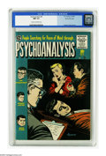 Golden Age (1938-1955):Horror, Psychoanalysis #4 Gaines File pedigree 12/12 (EC, 1955) CGC NM 9.4Cream to off-white pages. Get into people's minds, find o...