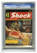 Magazines:Crime, Shock Illustrated #2 Gaines File Copy pedigree (EC, 1956) CGC NM+9.6 Cream to off-white pages. Rudy Nappi's evocative paint...