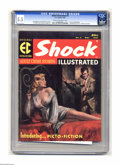 Magazines:Crime, Shock Illustrated #3 (EC, 1956) CGC FN- 5.5 Cream to off-whitepages. Here's the last non-Mad EC publication, and one th...