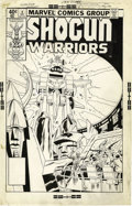 Original Comic Art:Covers, Herb Trimpe and Jack Abel - Shogun Warriors #4 Cover Original Art(Marvel, 1979)....