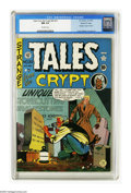 Golden Age (1938-1955):Horror, Tales From the Crypt #20 Gaines File pedigree 11/11 (EC, 1950) CGCNM 9.4 Off-white pages. After three issues as Crypt of ...