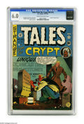 Golden Age (1938-1955):Horror, Tales From the Crypt #20 (EC, 1950) CGC FN 6.0 Cream to off-whitepages. The discovery of one's date of death has long been ...