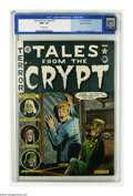 Golden Age (1938-1955):Horror, Tales From the Crypt #23 (EC, 1951) CGC NM+ 9.6 Off-white pages.Attention, Al Feldstein fans: This issue was the last of th...