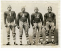 Football Collectibles:Photos, 1938-61 Vintage Football Service Photographs Lot of 14. Exceptional collection of early football service photographs allows...