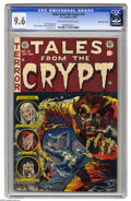 Golden Age (1938-1955):Horror, Tales From the Crypt #35 Gaines File pedigree (EC, 1953) CGC NM+9.6 Off-white to white pages. Jack Davis' classic werewolf ...