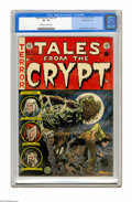 Golden Age (1938-1955):Horror, Tales From the Crypt #37 Gaines File pedigree (EC, 1953) CGC VF-7.5 Off-white to white pages. Jack Davis cover. The book fe...