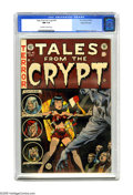 Golden Age (1938-1955):Horror, Tales From the Crypt #41 Gaines File pedigree 3/12 (EC, 1954) CGCNM 9.4 Off-white to white pages. Jack Davis' cover illustr...