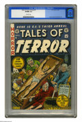 Golden Age (1938-1955):Horror, Tales of Terror Annual #3 (EC, 1953) CGC VF/NM 9.0 Off-white pages.All three of EC's ghoulish hosts appear on Al Feldstein'...