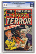 Golden Age (1938-1955):Horror, Three Dimensional Tales from the Crypt of Terror #2 (EC, 1954) CGCVF+ 8.5 Off-white pages. This great EC 3-D comic has a co...