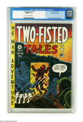 Golden Age (1938-1955):War, Two-Fisted Tales #22 Gaines File pedigree (EC, 1951) CGC NM/MT 9.8 Off-white to white pages. You can almost hear the bullets...