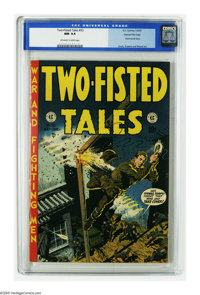 Two-Fisted Tales #33 Gaines File pedigree 9/12 (EC, 1953) CGC NM 9.4 Off-white to white pages. Wally Wood takes a turn a...