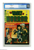 Golden Age (1938-1955):Horror, Vault of Horror #14 Gaines File pedigree 4/9 (EC, 1950) CGC NM 9.4White pages. Do you voodoo? Even if you don't, you'll wan...