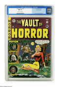 "Golden Age (1938-1955):Horror, Vault of Horror #19 Gaines File pedigree 4/12 (EC, 1951) CGC NM+9.6 Off-white to white pages. This issue's ""lover come back..."